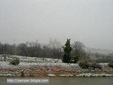 La nieve llega a Samper