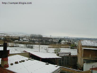 Vuelve la nieve a Samper